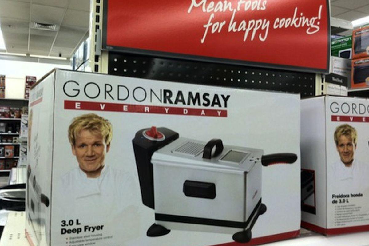 Uncategorized Gordon Ramsay Kitchen Appliances gordon ramsays line of mean kitchenware now at kmart eater photos biggayicecream looks like shouty chef ramsays