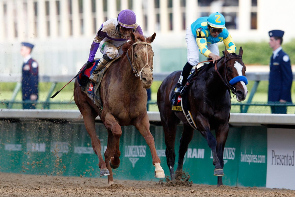 I'll Have Another and Bodemeister will battle again in the 2012 Preakness at Pimlico on Saturday, May 19th.