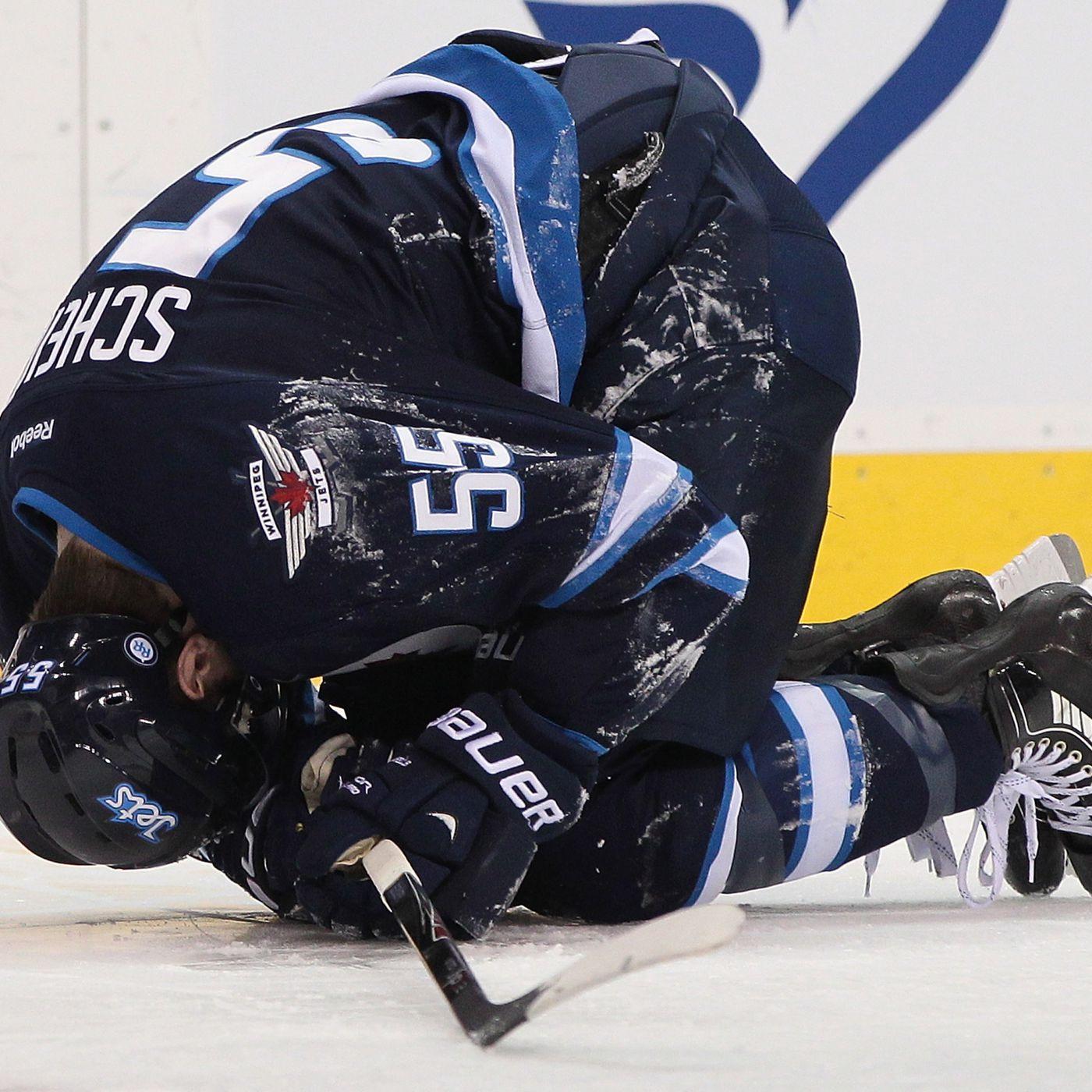 Winnipeg Jets Centre Mark Scheifele Injured Likely Out 6 8 Weeks Arctic Ice Hockey