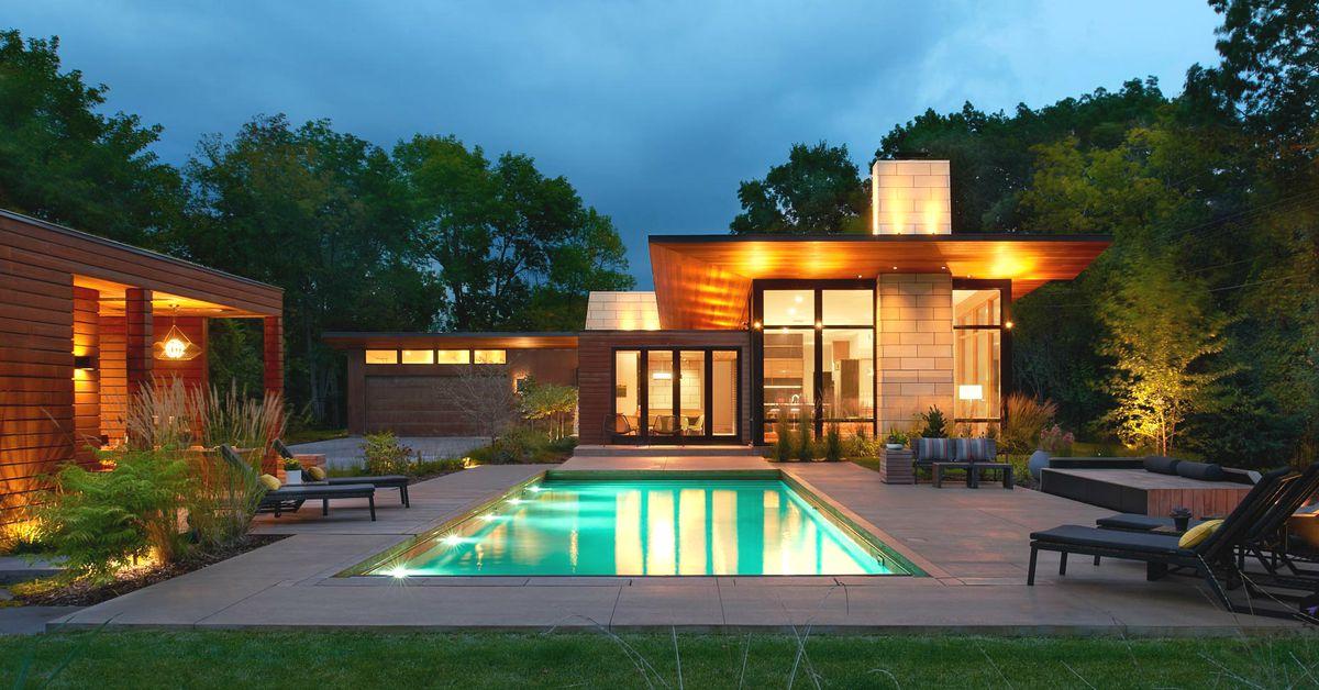 Modern Pool Cabana