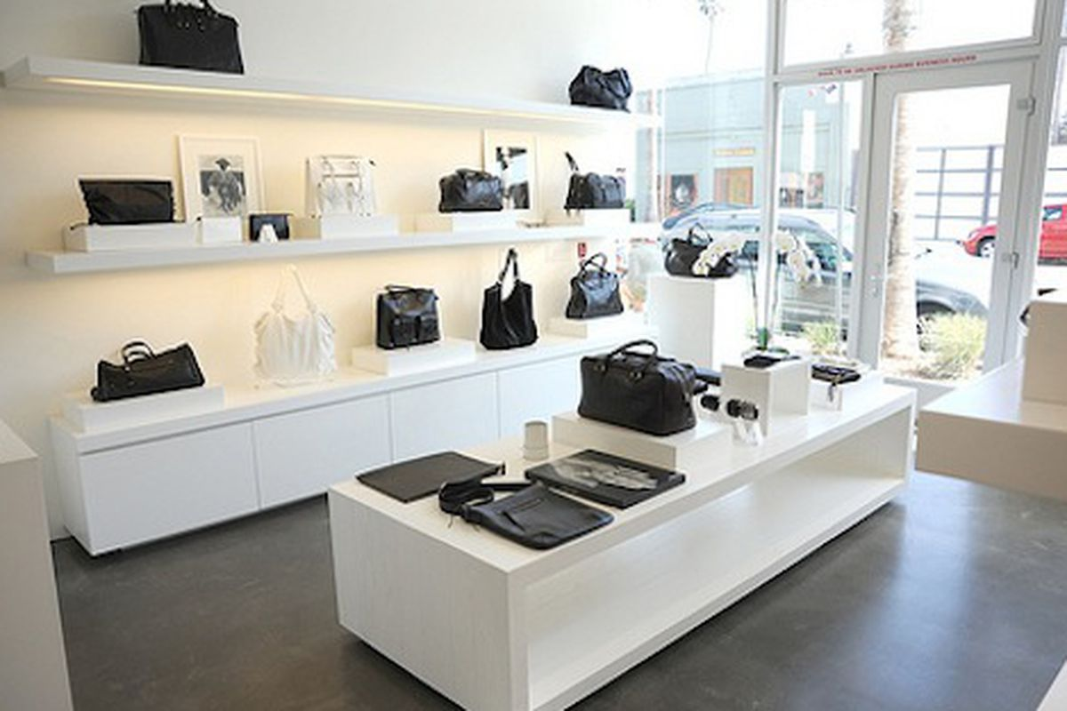 "Nice luxury leather handbags and even iPad cases. Image via <a href=""http://www.yovenice.com/2010/06/03/kendall-conrad-abbot-kinney/"">Yo! Venice!</a>"