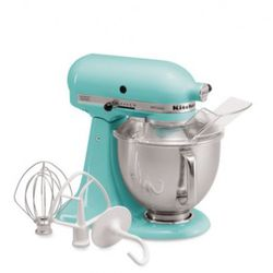 "KitchenAid ""Artisan"" 5 Quart Tilt Head Stand Mixer ($299), <a href=""http://www1.bloomingdales.com/catalog/product/index.ognc?ID=548723&CategoryID=22527"" rel=""nofollow"">Bloomingdale's</a>"