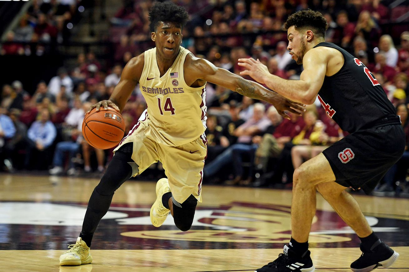 On Saturday, Florida State knocked off N.C. State. Tonight, the Seminoles get a visit from Virginia Tech in a game with serious seeding implications.