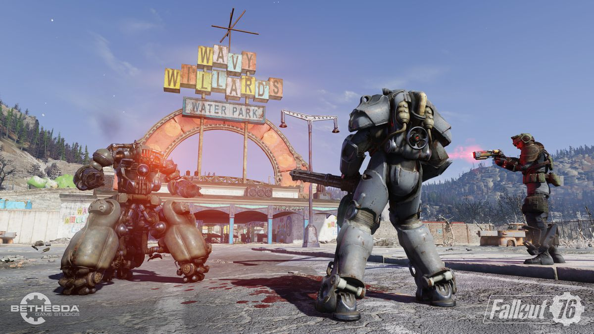 Fallout 76 beta - Wavy Willards
