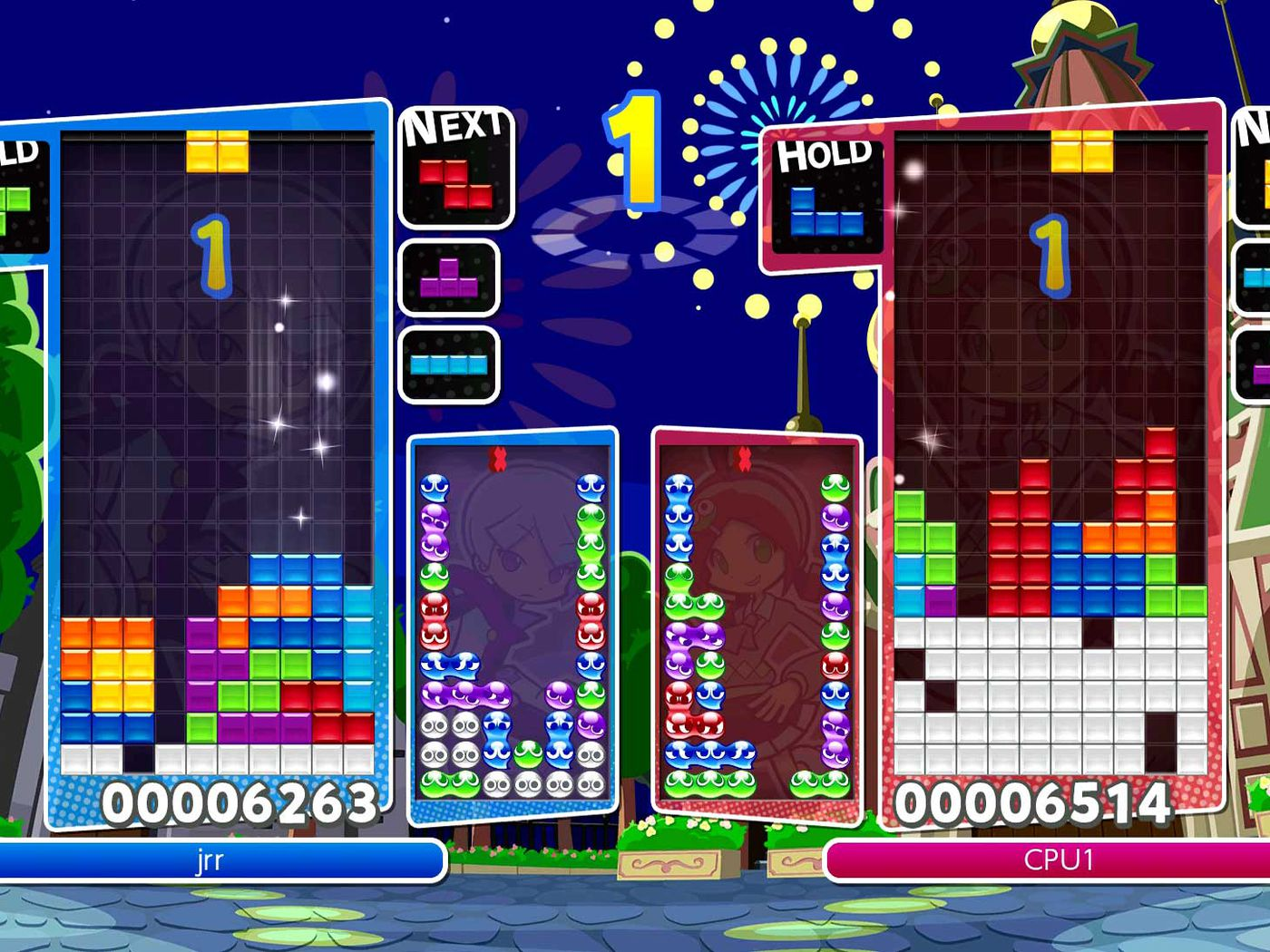 puyo puyo tetris and the joy of small games on switch the verge