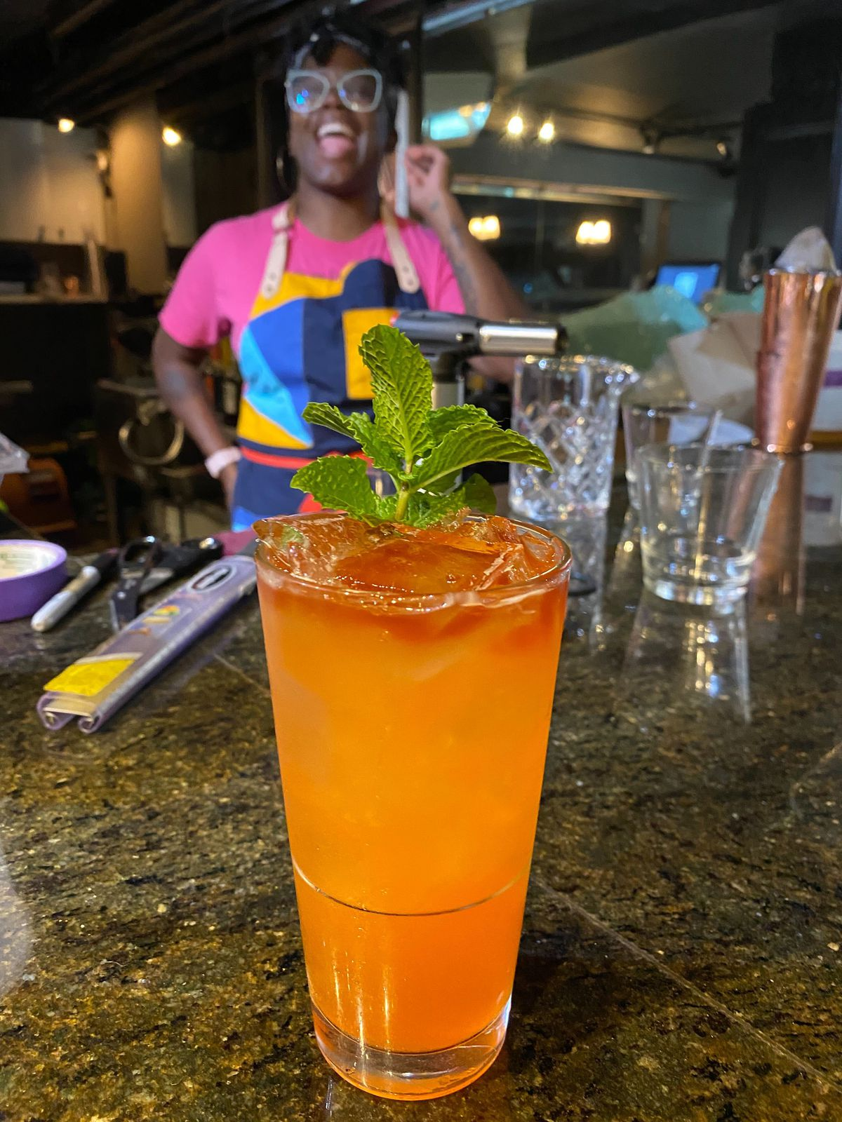 """Chief mixologist Lauren """"LP"""" Paylor has worked at some of D.C.'s most ambitious bars."""
