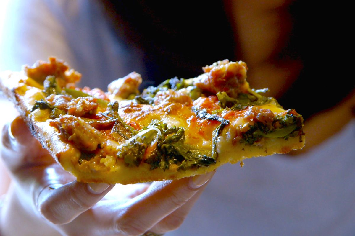 A slice from Umberto's