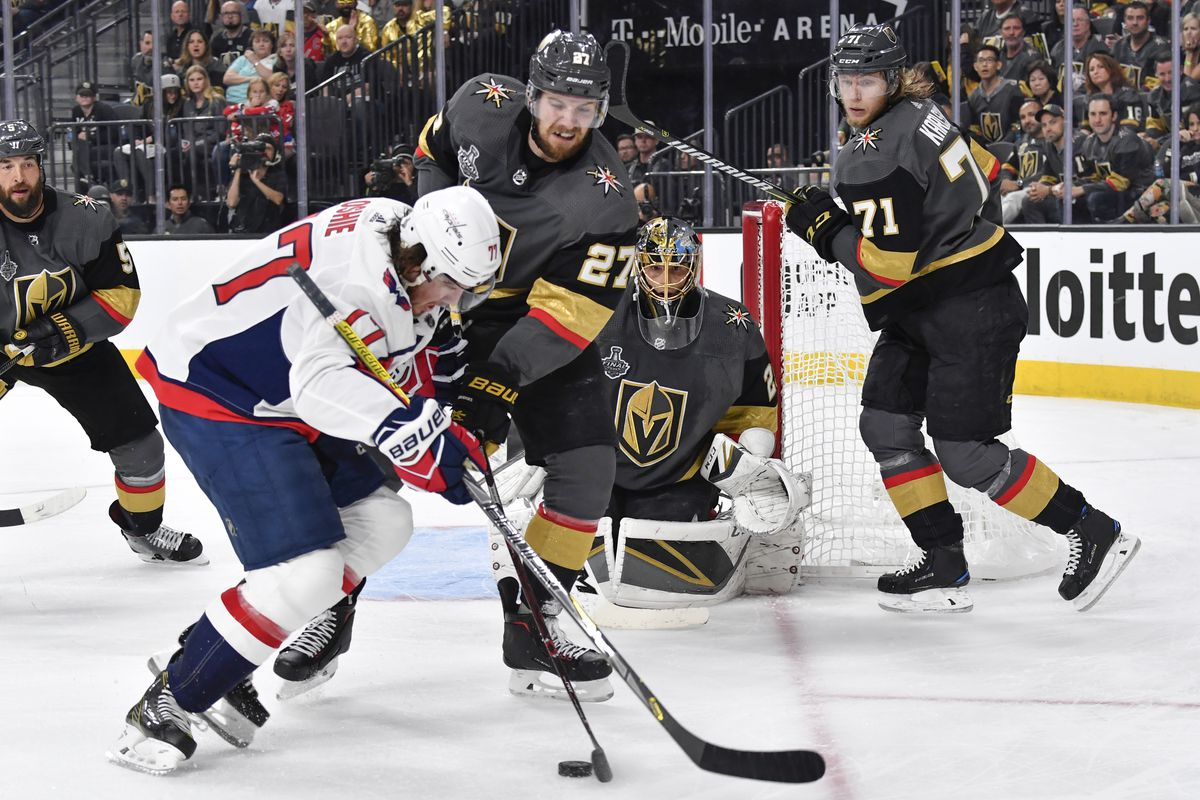 Washington Capitals v Vegas Golden Knights - Game One