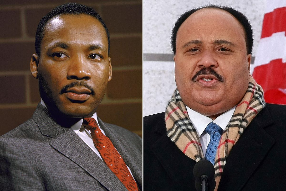 Martin Luther King Jr. and Martin Luther King III