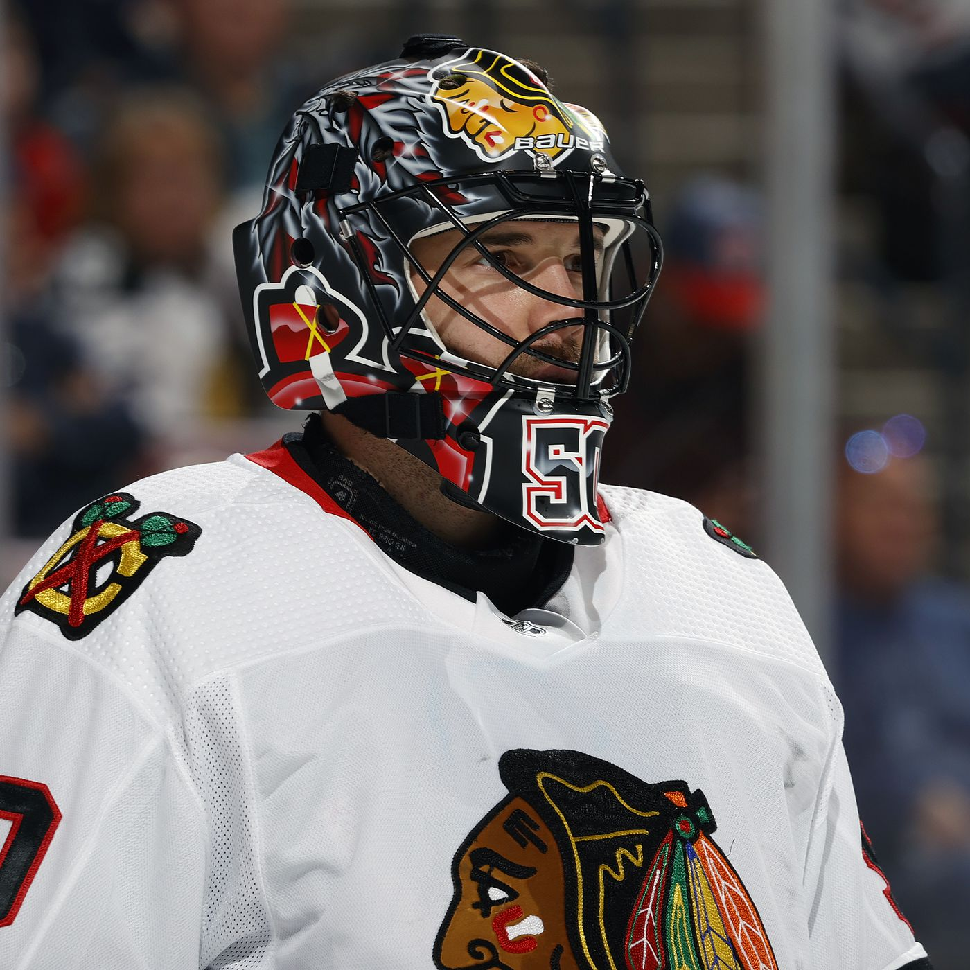 Chicago Blackhawks Haven T Ruled Out Corey Crawford Despite Being Unfit To Play Second City Hockey