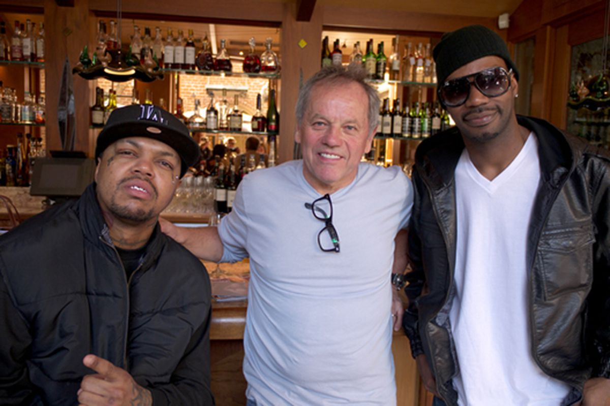 L to R: DJ Paul, Puck, and Juicy J.