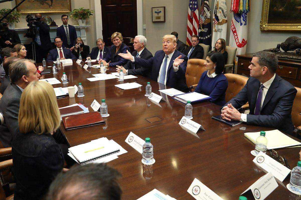 Vice President Pence, Coronavirus Task Force Hold Briefing At The White House