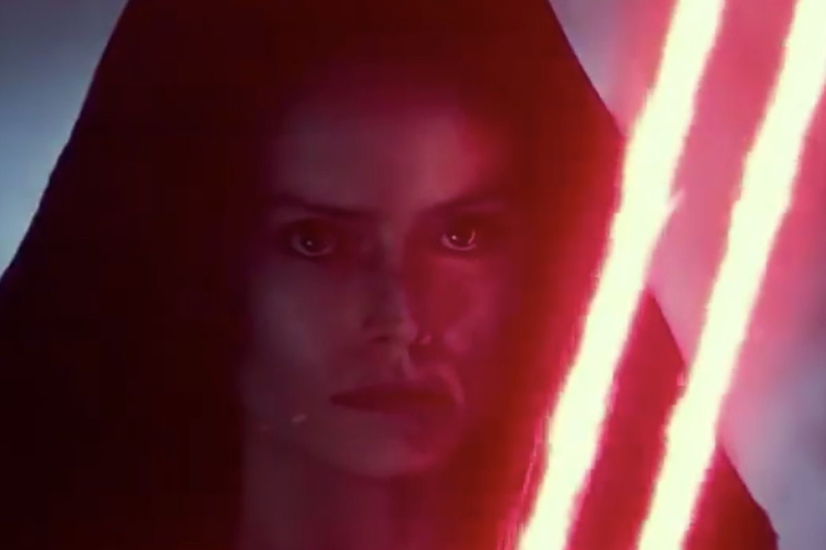 """""""Star Wars: The Rise of Skywalker"""" had a minor plot line about Dark Rey — a version of Rey that had been consumed by the dark side."""