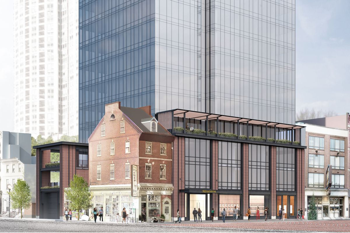 Renderings Toll Brothers Reveal Shorter Glass Tower For Jewelers