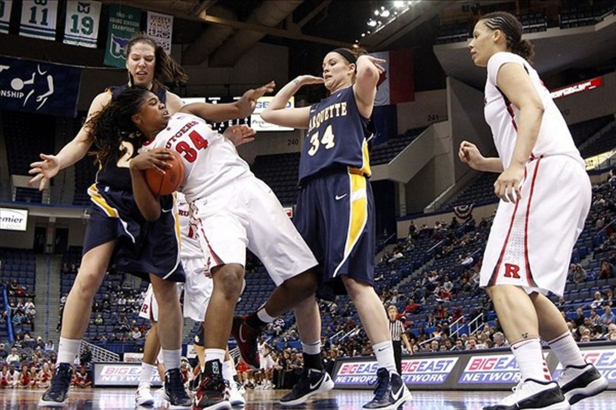 Marquette and Rutgers last faced off in the 2012 Big East tournament with the Scarlet Knights picking up a 52-43 win.