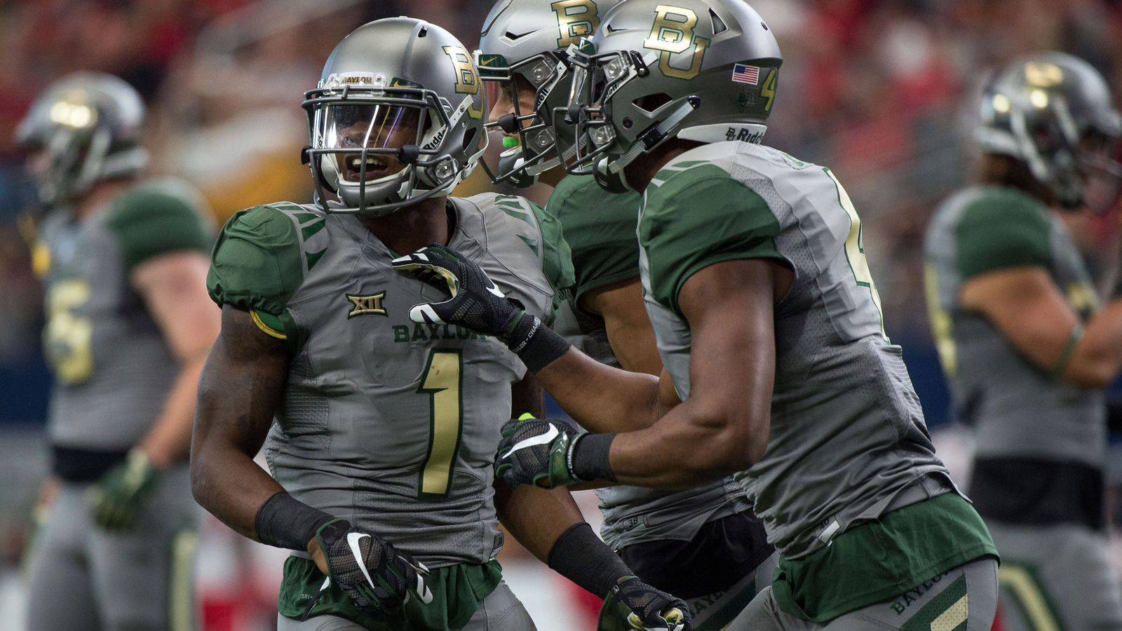 The 2013 Baylor Bears football team represented Baylor University in the 2013 NCAA Division I FBS football season The Bears coached by Art Briles were playing