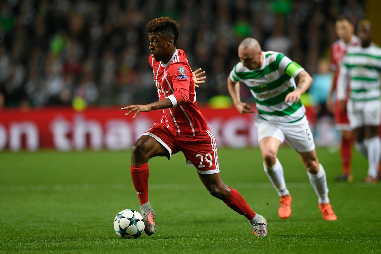 Bayern Munich are a Kingsley Coman away from the Bundesliga title