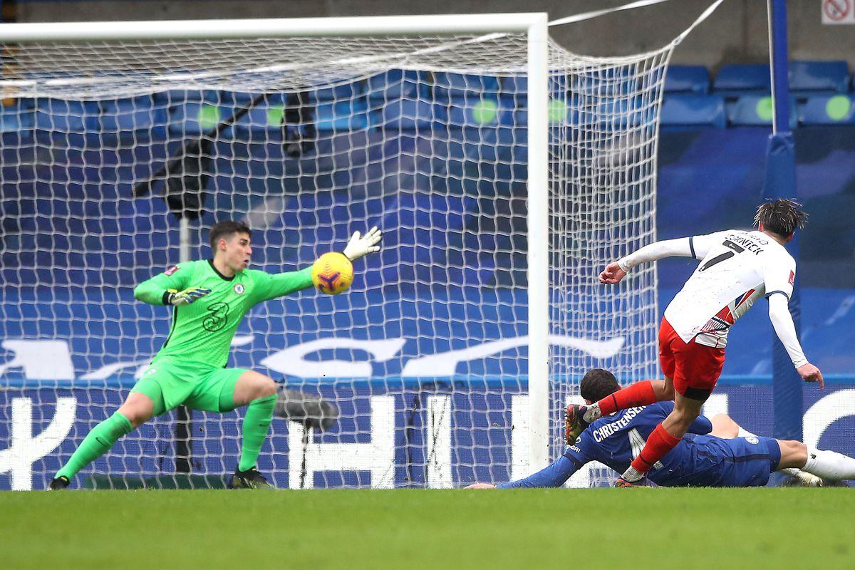 Chelsea v Luton Town - Emirates FA Cup - Fourth Round - Stamford Bridge
