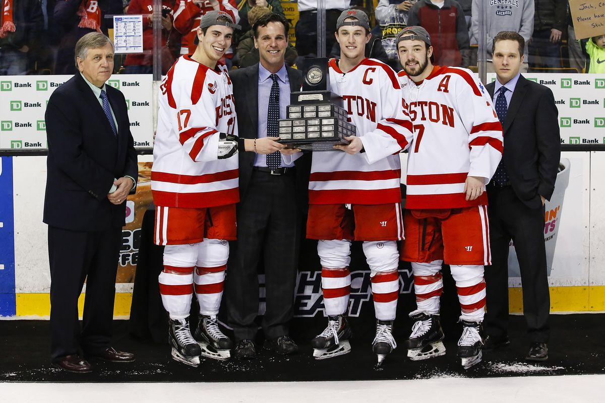 2015 Hockey East Tournament Champion Boston University