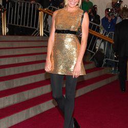 Sienna Miller in Burberry in 2006.