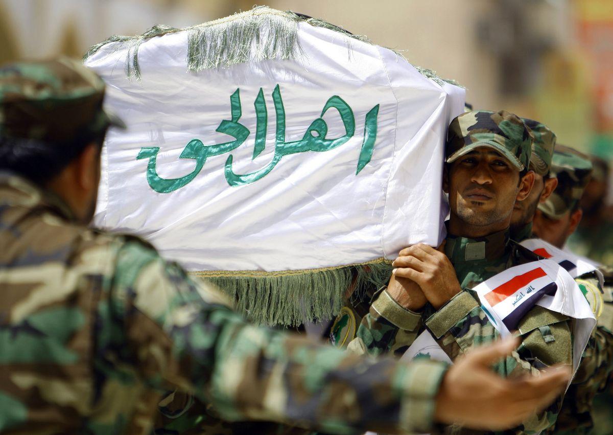 Shia militia Hamdar Hamdani/AFP/Getty Images