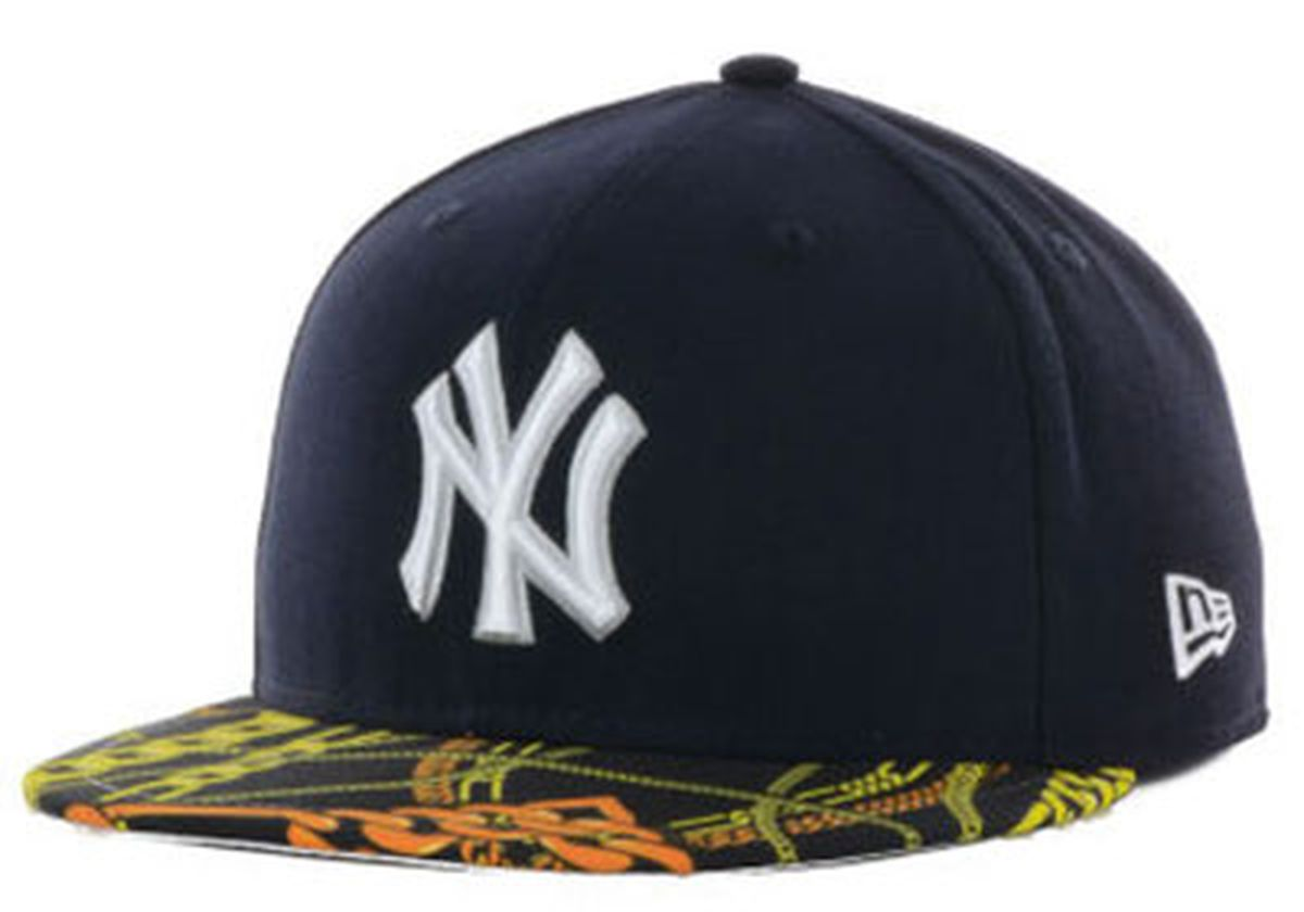 wholesale dealer c385a 3385f store new york yankees red leather 59fifty fitted cap new era mlb spike lee  34a5d 19362  hot new york yankees mlb new era grey neo 39thirty strech fit  hat ...