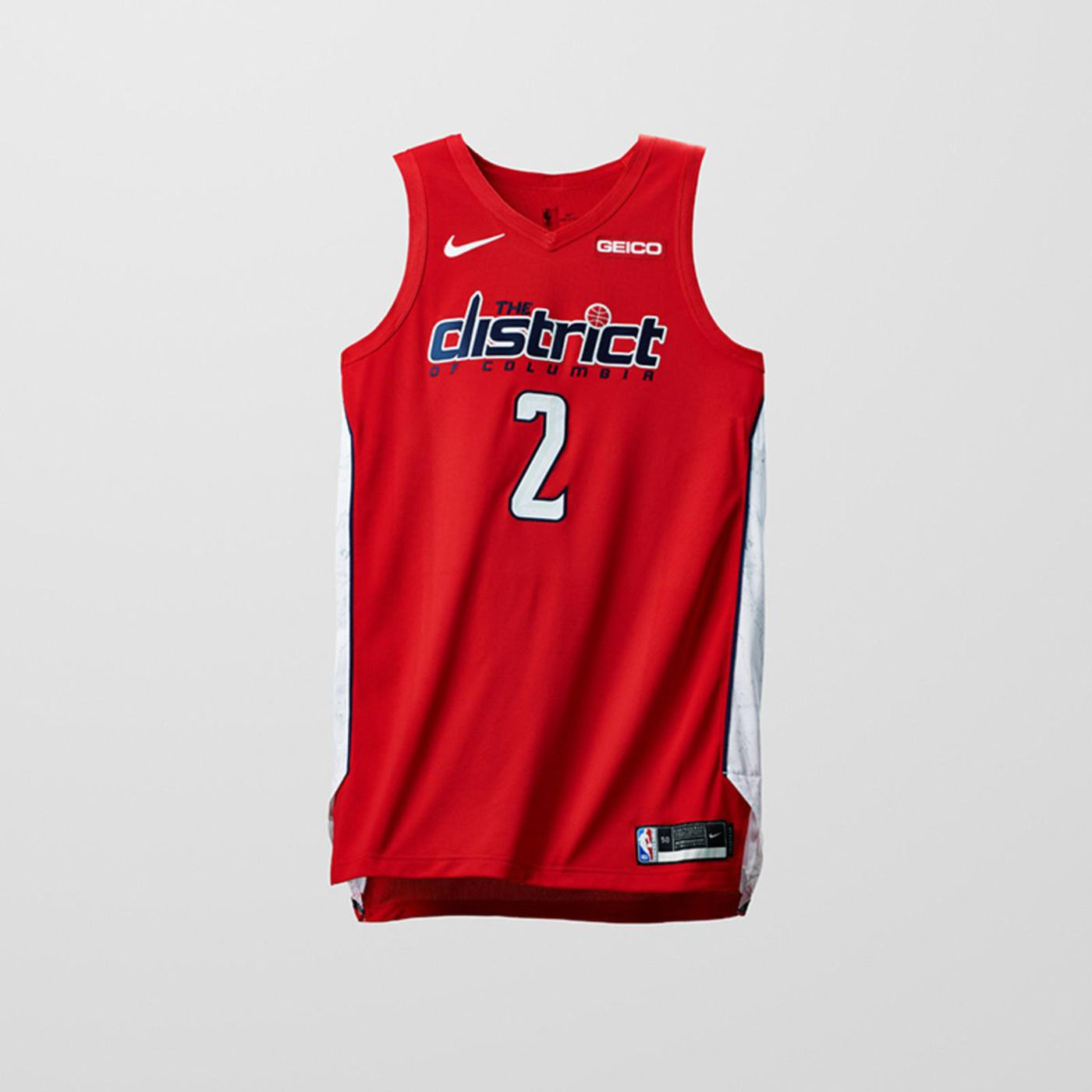 4e7b6603a Wizards unveil  Earned Edition  red uniforms with District wordmark - Bullets  Forever