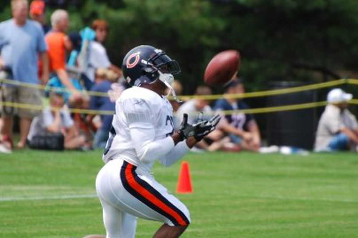 Photo by Jerry Burnes | Garrett Wolfe will assume a special teams role again for the Bears in 2009. But will Ron Turner finally implement him into the offense?