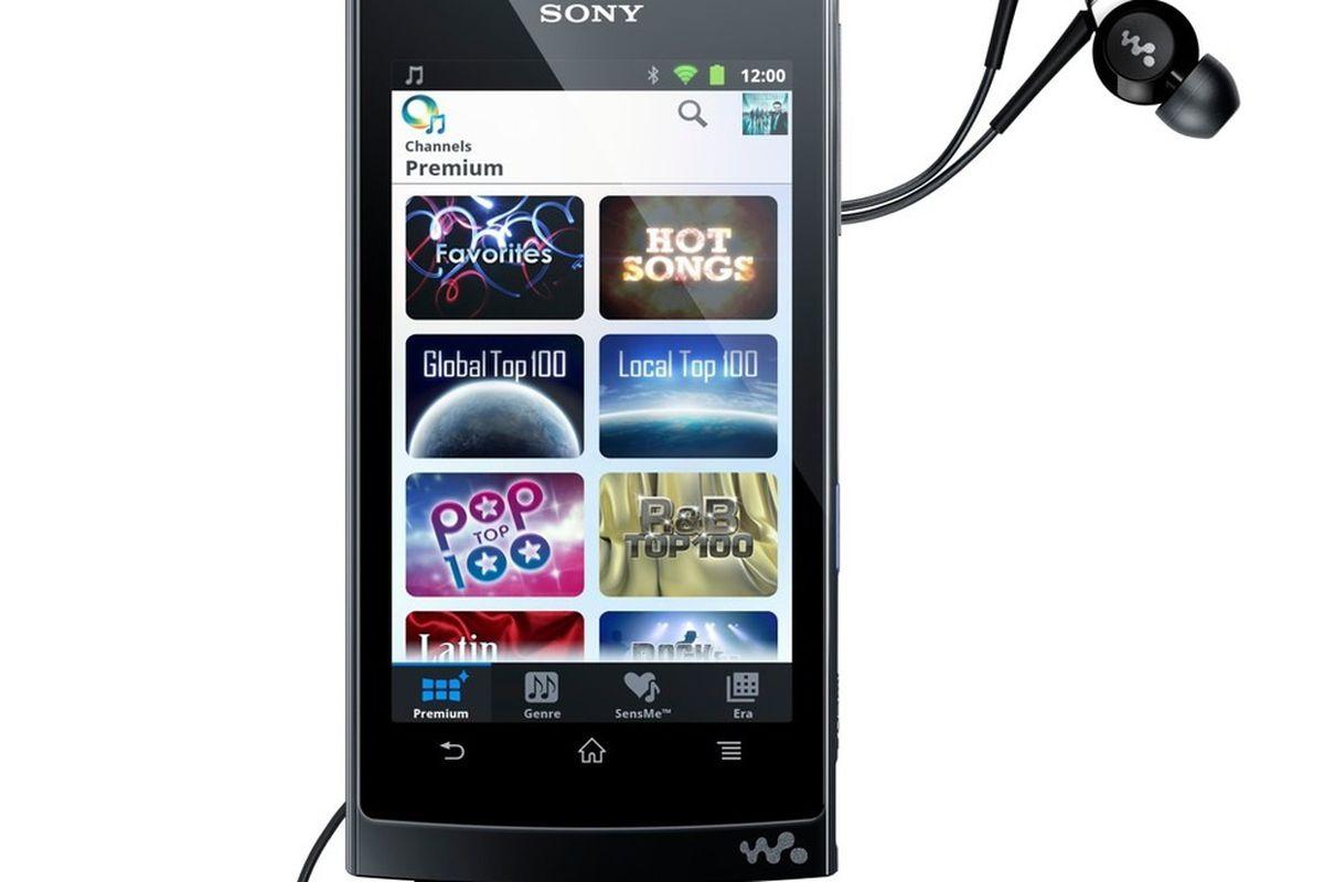 Gallery Photo: Sony Walkman Z1000 press shots