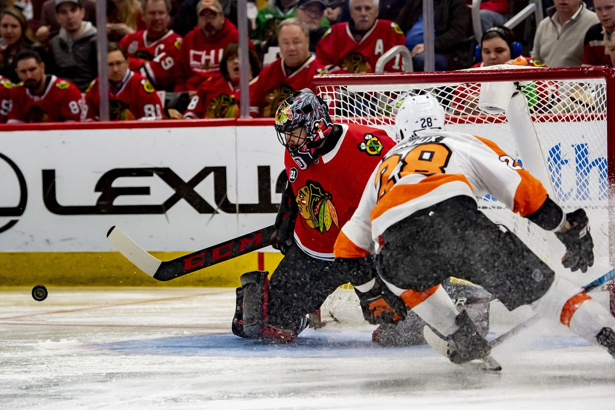 3 up, 3 down from Blackhawks' 3-1 loss to Flyers