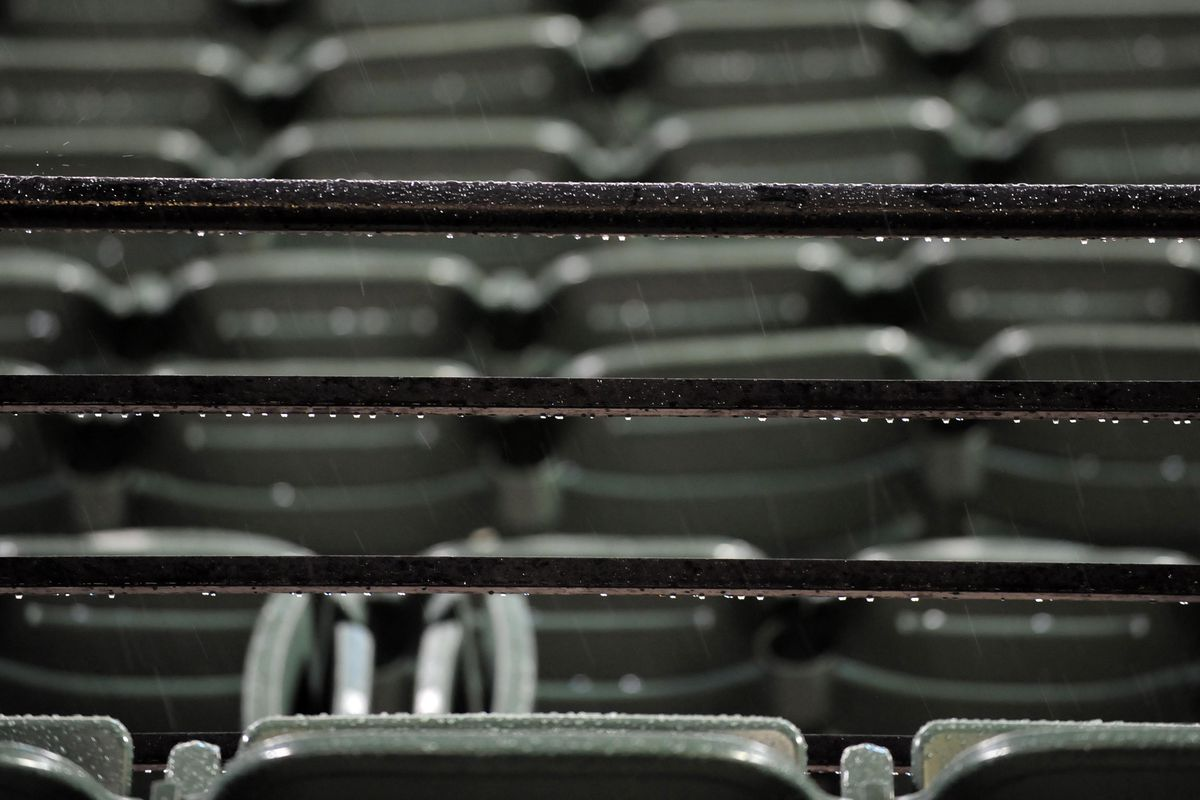 Rain wiped out two games for Orioles affiliates yesterday
