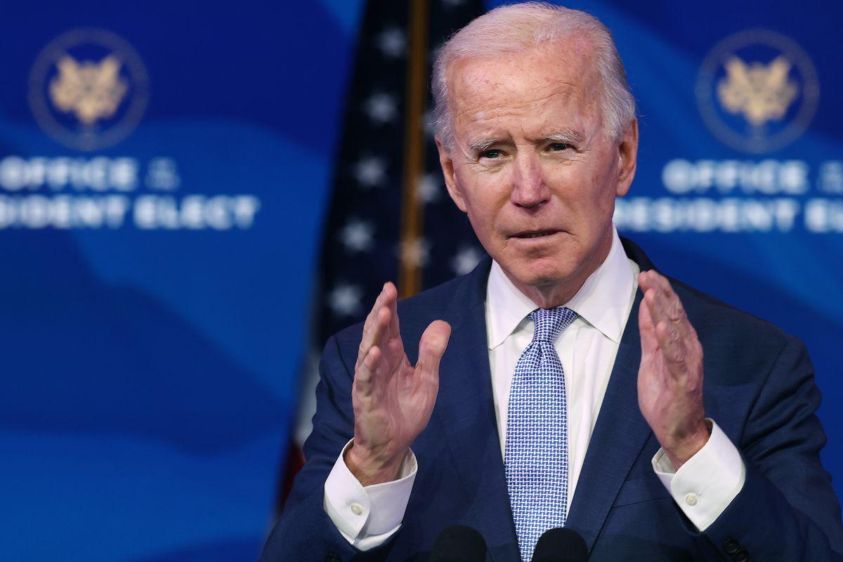 President-Elect Joe Biden Delivers Remarks On Pro-Trump Mob Storming Capitol