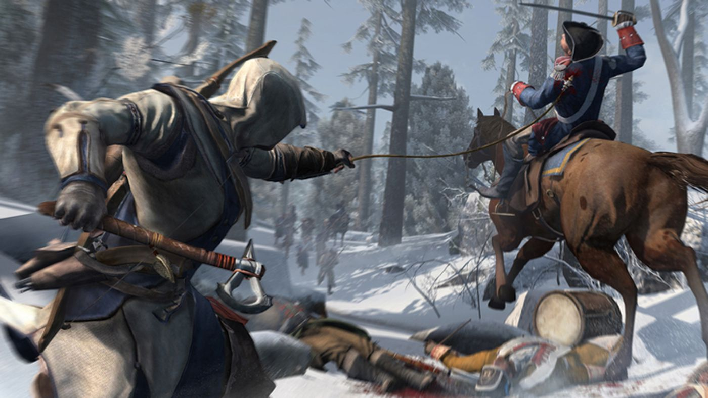 Major Assassin S Creed 3 Patch Coming Next Week Polygon