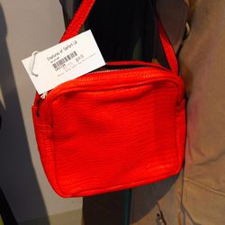 This bright red Rachel Comey crossbody bag is only $173 (regular $575).