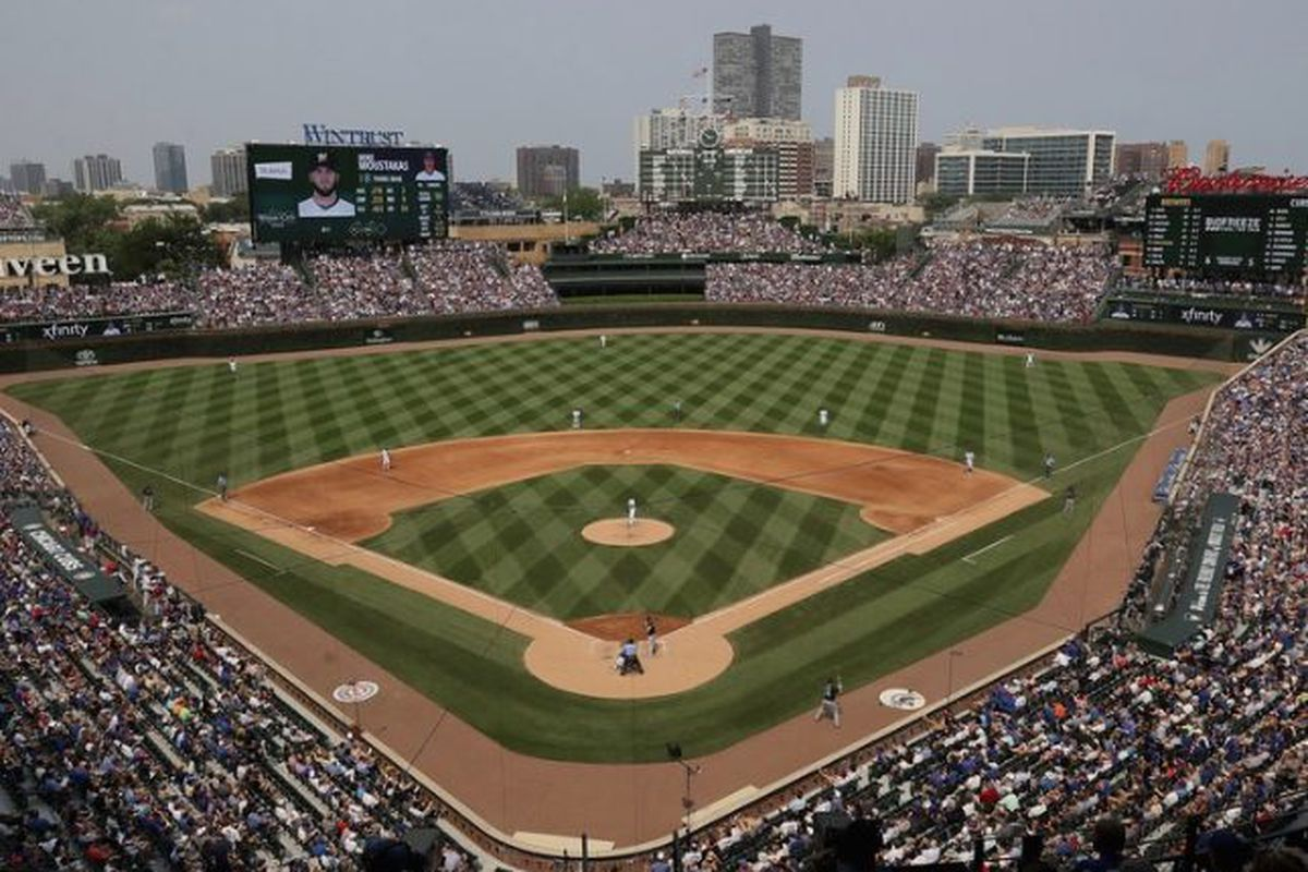 Cubs Home Opening Day 2020.Cubs Announce Deal With Sinclair To Launch Marquee Sports