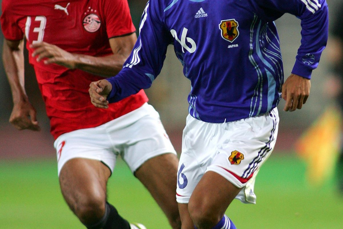 Ahmed Elmohamady could only manage 45 minutes for Egypt before being withdrawn.