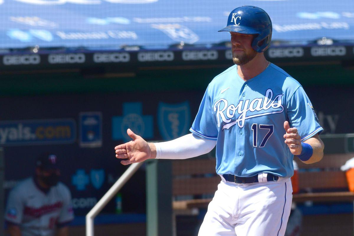 MLB: AUG 23 Twins at Royals