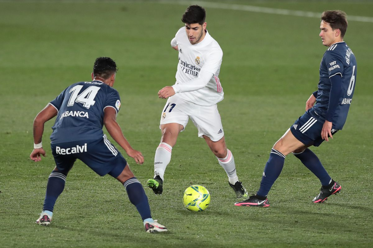"""Marco Asensio: """"Pressing is part of our identity ..."""