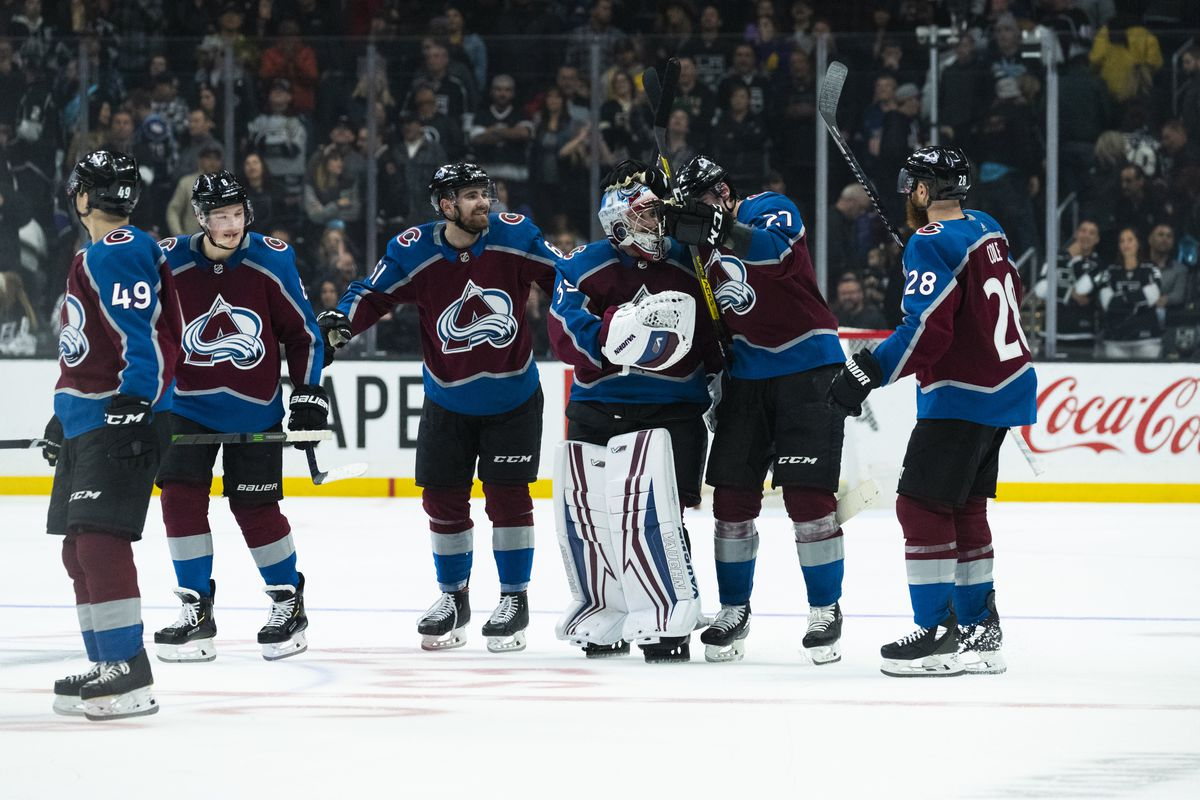 NHL: FEB 22 Avalanche at Kings