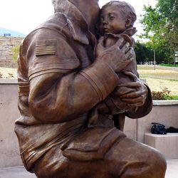 The Utah Unites in Hope 9/11 memorial in Kaysville, Monday, Sept. 9, 2013.