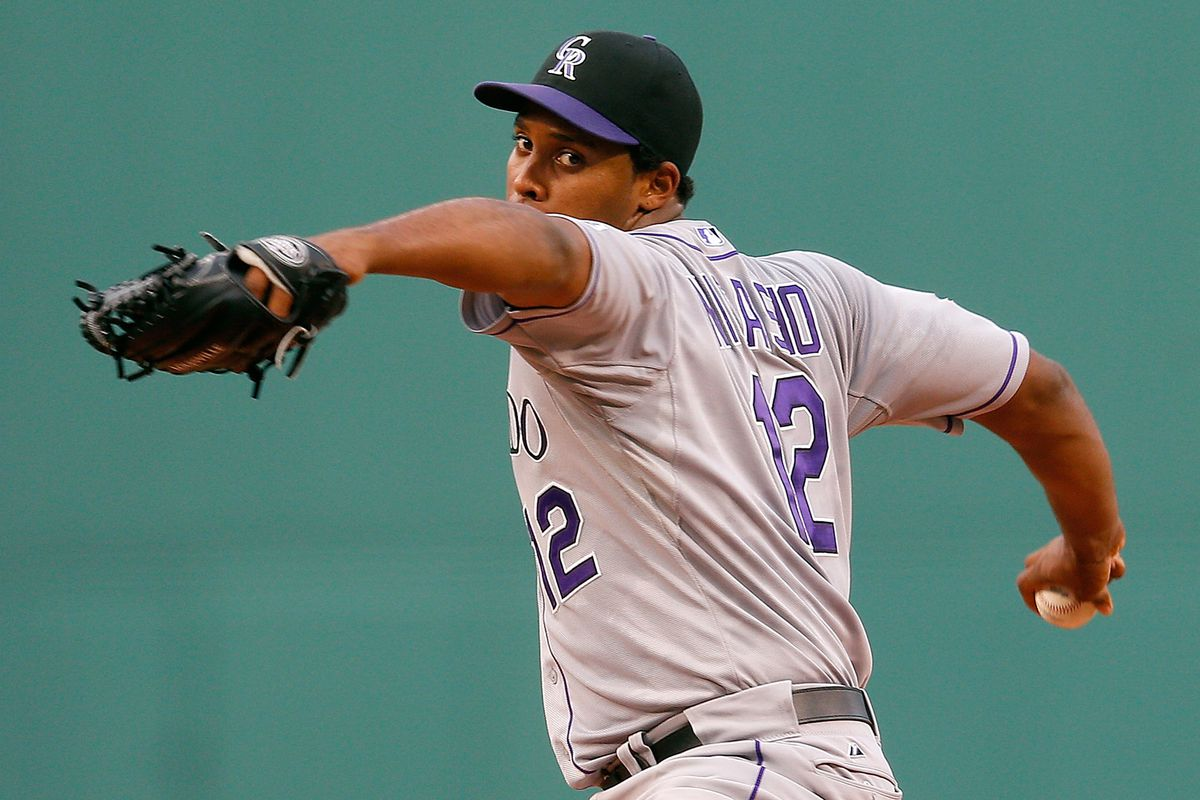 Juan Nicasio had a rough outing in an 11-4 loss to the Boston Red Sox.