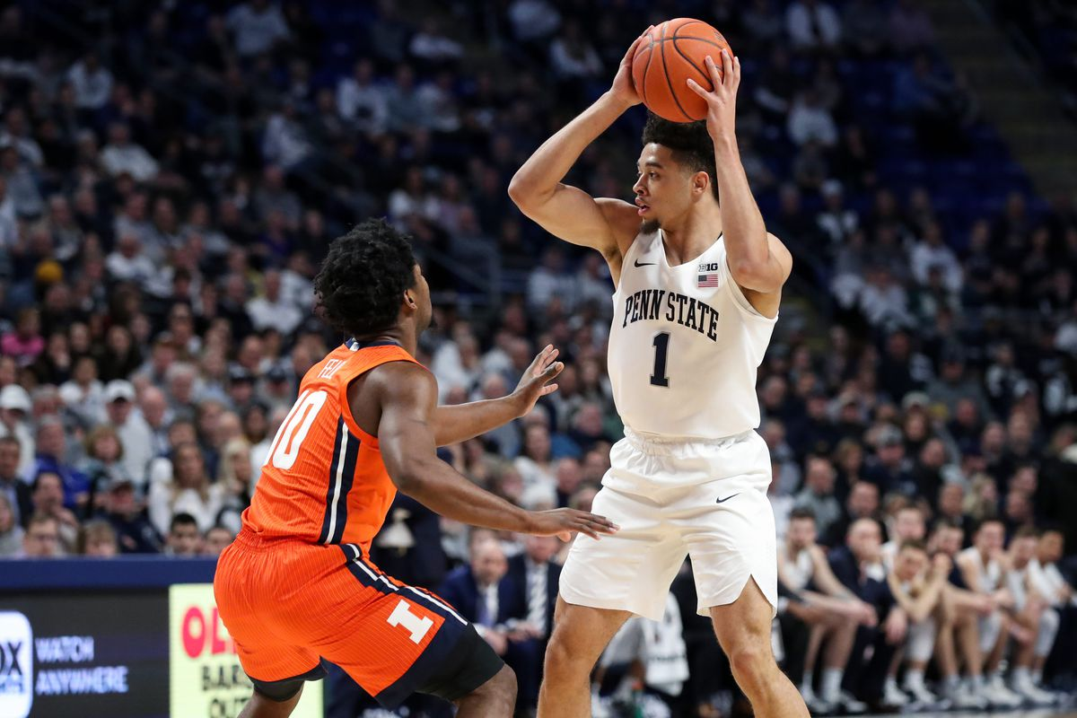 NCAA Basketball: Illinois at Penn State