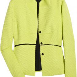 Narciso Rodriguez wool-blend paneled jacket, $328.50 (orig. $2,190)
