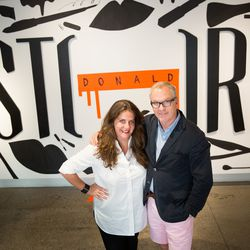 Rachel Shechtman, founder of Story, and Donald Robertson