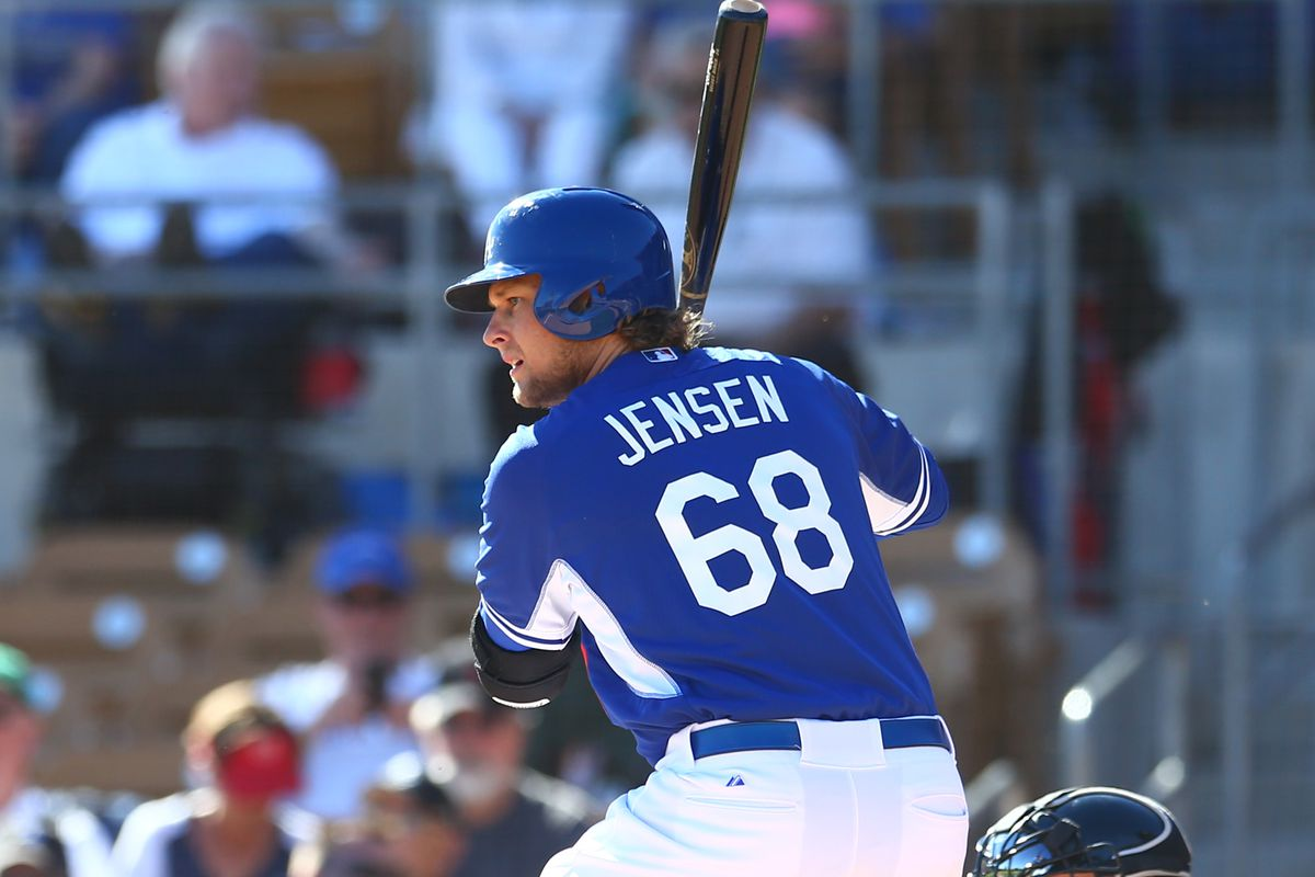 Kyle Jensen reached base three times in the OKC Dodgers loss
