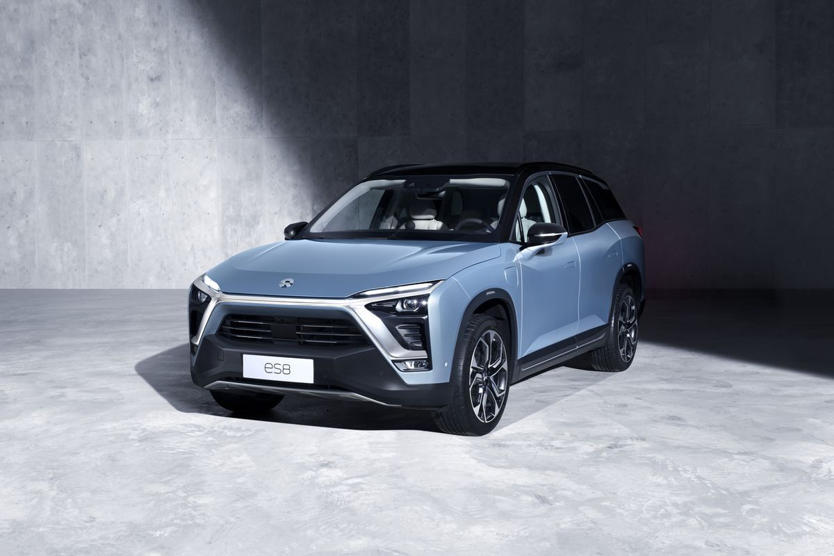 Chinese electric auto maker launches NIO