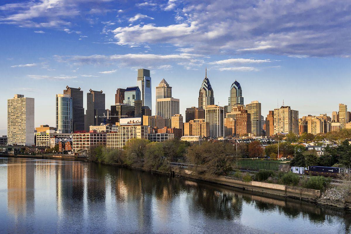Philadelphia's Schuylkill River and skyline