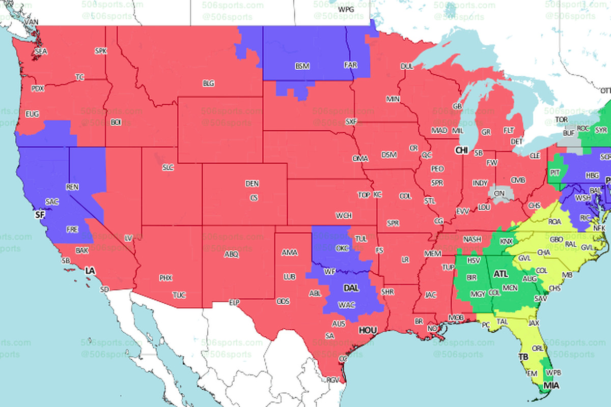 ErsEagles TV Schedule Broadcast Maps In The US International - Philadelphia on the us map