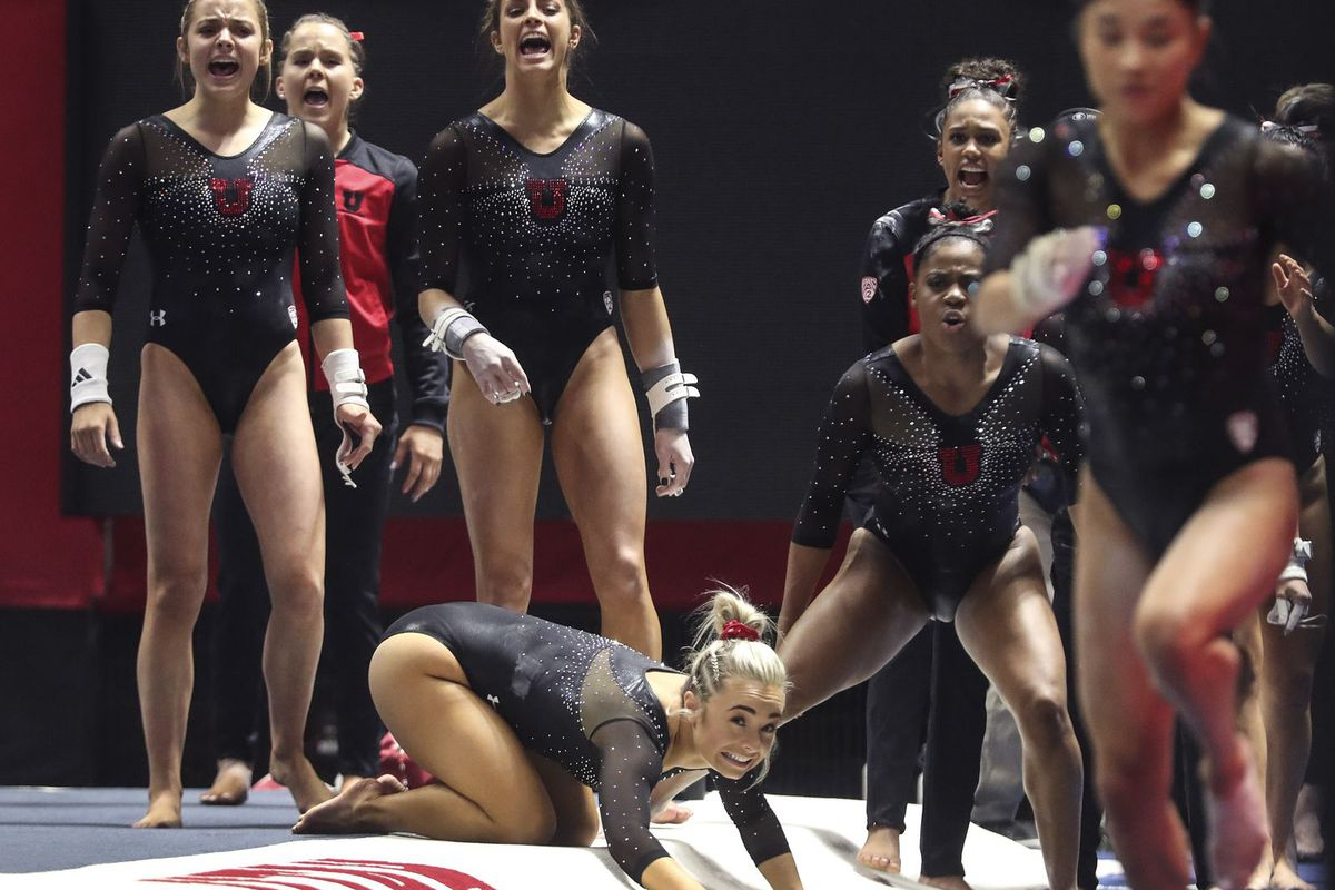 Multiple Utah gymnasts are pushing for spots in lineups