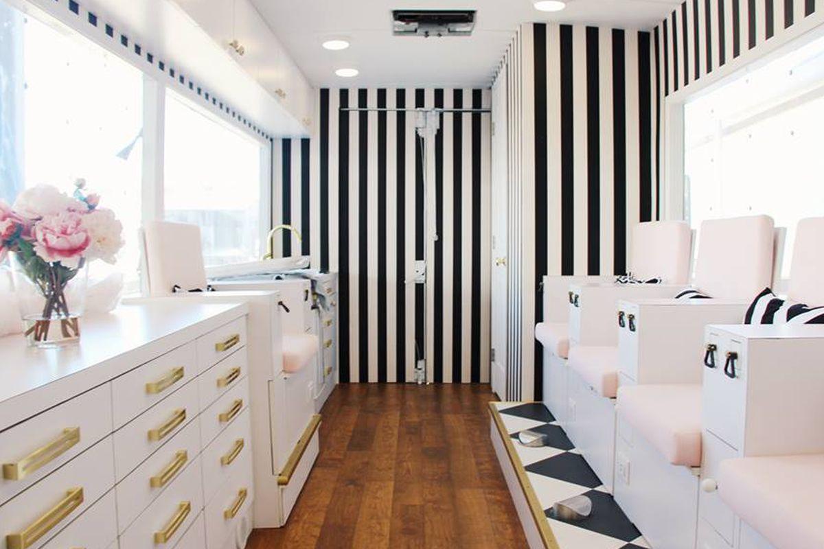 Colvon Mobile Nail Salon, A Nail Salon on Wheels, Launches in LA ...